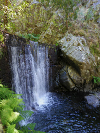 Ceci est la cascade de Lousà.