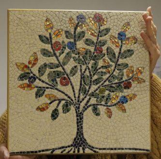 Photo mosaïque arbre de vie de JMarie en tout marbre.