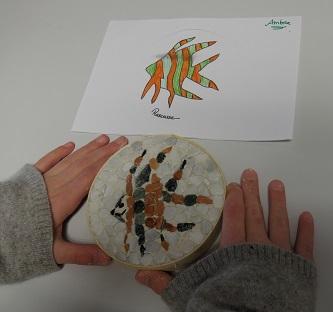 Photo mosaïque de Ambre