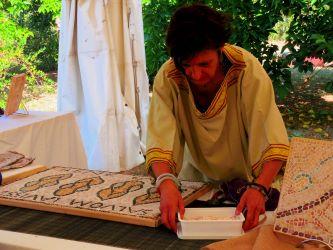 Journée romaine à Eauze, domus de la Cieutat, 8 août 2020.