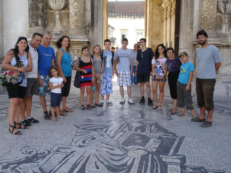 Ceci est une photo de group à Coimbra en juillet 2012.
